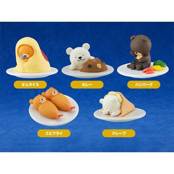Figura Oyasumi Restaurant Set Mascots