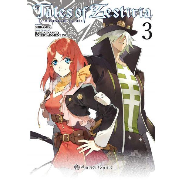 Tales of Zestiria #03 Manga Oficial Planeta Comic