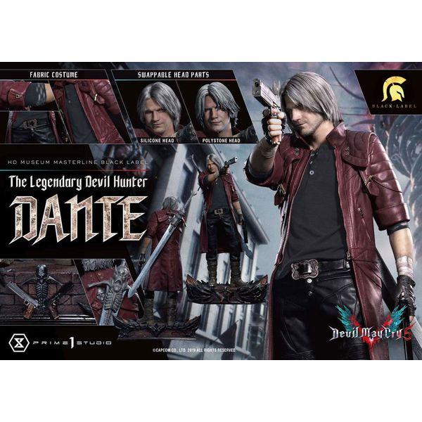 Estatua Dante Sparda Devil May Cry 5 Black Label Prime 1 Studio