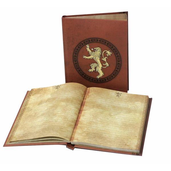 Lannister Notebook with Light Game Of Thrones