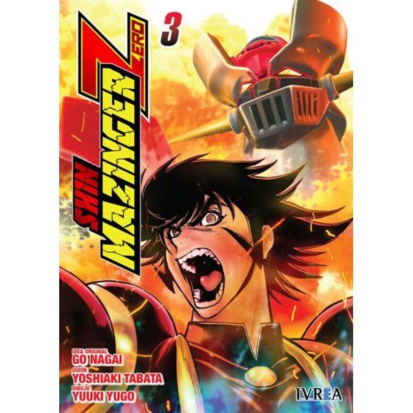 Shin Mazinger Zero #03 (spanish)