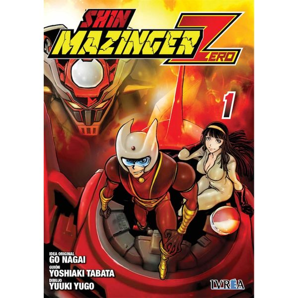 Shin Mazinger Zero #01 Manga Oficial Ivrea