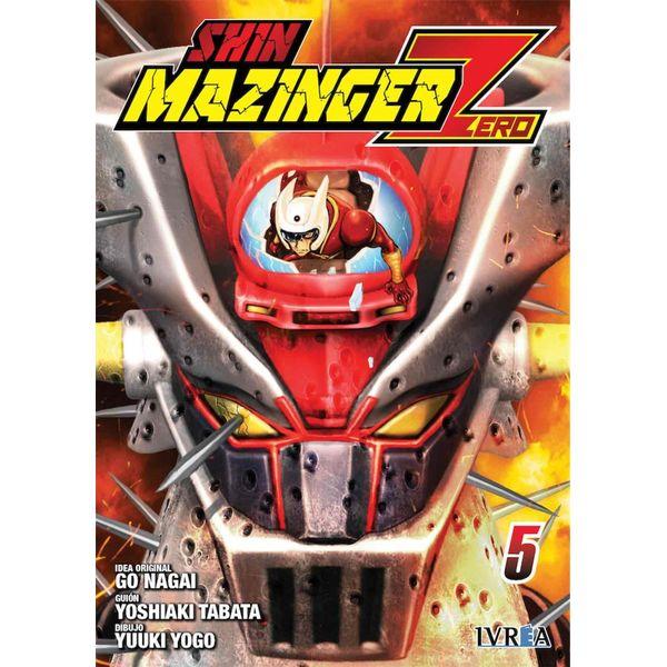Shin Mazinger Zero #05 Manga Oficial Ivrea (spanish)