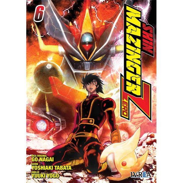 Shin Mazinger Zero #06 Manga Oficial Ivrea
