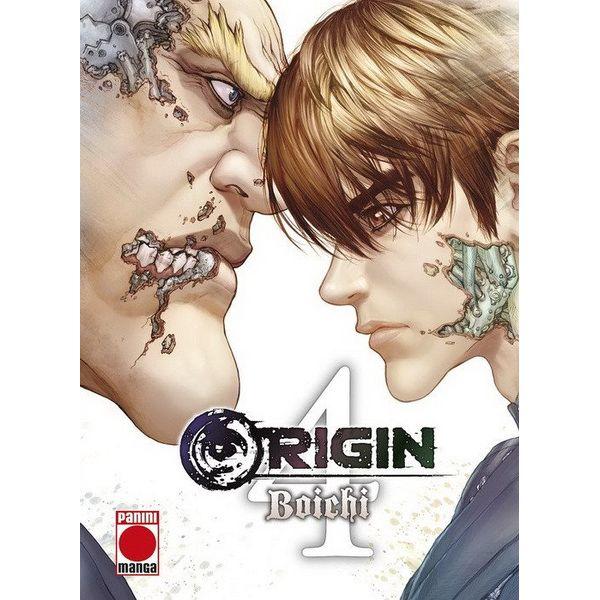 Origin #04 Manga Oficial Panini Manga