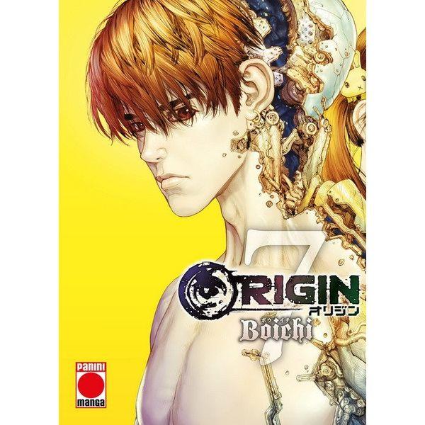 Origin #07 Manga Oficial Panini Manga  (spanish)