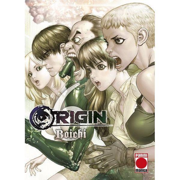 Origin #06 Manga Oficial Panini Manga  (spanish)
