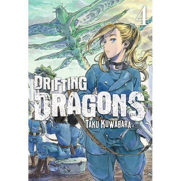 Drifting Dragons #04 (spanish) Manga Oficial Milky Way Ediciones