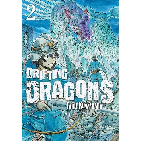 Drifting Dragons #02 Manga Oficial Milky Way Ediciones