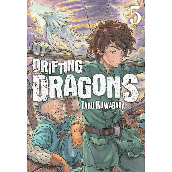 Drifting Dragons #05 Manga Oficial Milky Way Ediciones