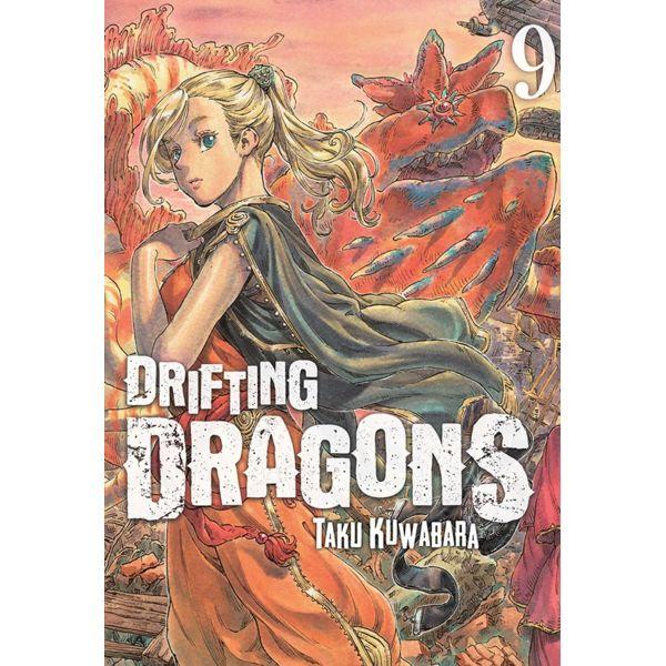 Drifting Dragons #09 Manga Oficial Milky Way Ediciones