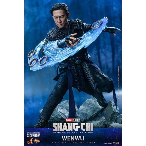 Figura Wenwu Shang-Chi La Leyenda De Los Diez Anillos Movie Masterpiece Hot Toys