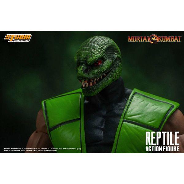 Figura Reptile Mortal Kombat
