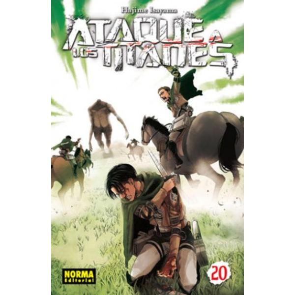 Ataque a los Titanes #20 (spanish) Manga Oficial Norma Editorial