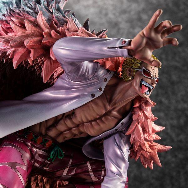 Donquixote Doflamingo Heavenly Demon Figure One Piece Excellent Model P.O.P. SA Maximum