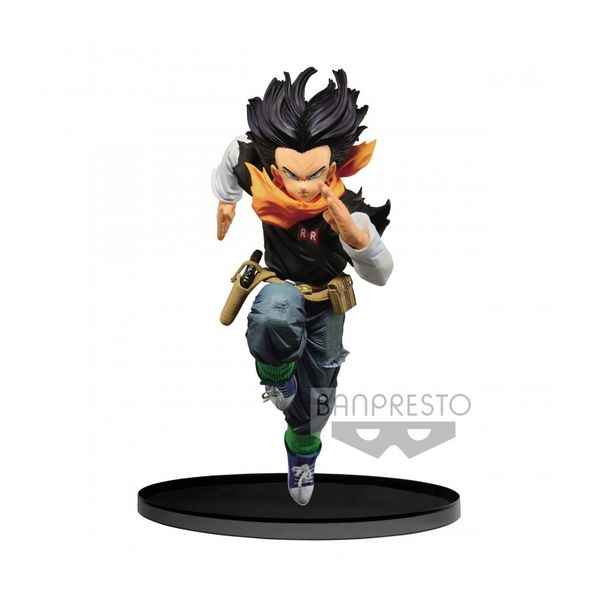 Figura Androide 17 Dragon Ball Z BWFC 2018