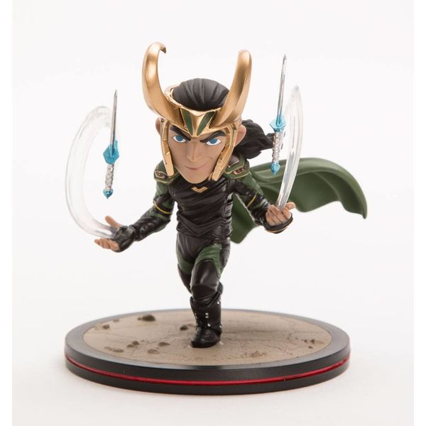 Loki Q-Fig Thor Ragnarok Diorama