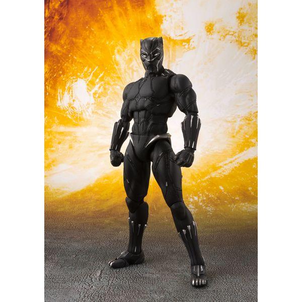 SH Figuarts Black Panther Vengadores Infinity War