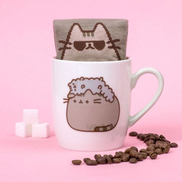 Taza y Calcetines Pusheen & Stormy Set