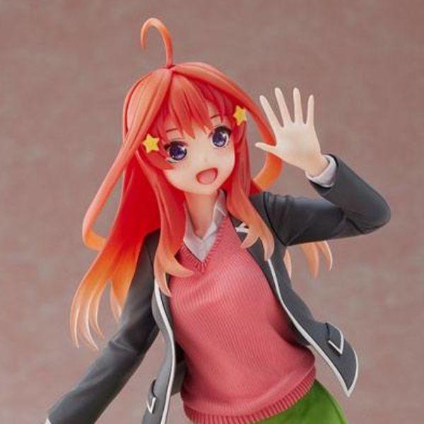 Figura Itsuki Nakano Uniform Version The Quintessential Quintuplets Coreful