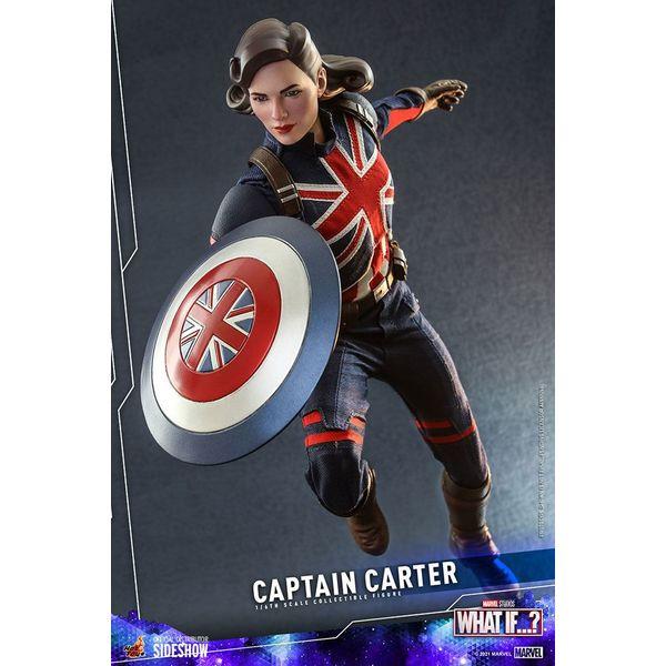 Figura Capitana Carter What If Marvel Comics Hot Toys