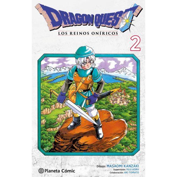 Dragon Quest VI: Los Reinos Oníricos #02 Manga Oficial Planeta Comic
