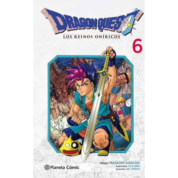 Dragon Quest VI: Los Reinos Oníricos #06 Manga Oficial Planeta Comic (Spanish)