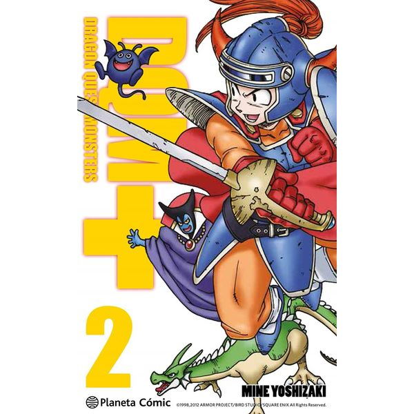 Dragon Quest Monsters #02 Manga Oficial Planeta Comic