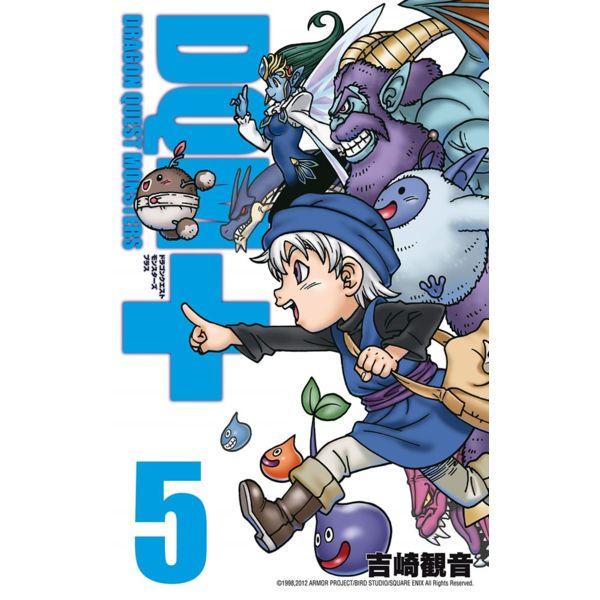 Dragon Quest Monsters #05 Manga Oficial Planeta Comic (Spanish)