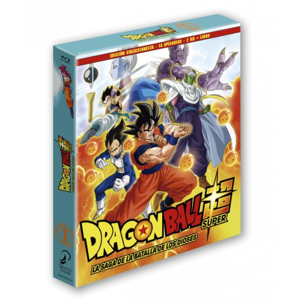 Dragon Ball Super - Box 1 Edición coleccionista 2BR + Libro - 14 episodios