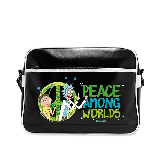 Peace Among Worlds Shoulder Bag Rick & Morty
