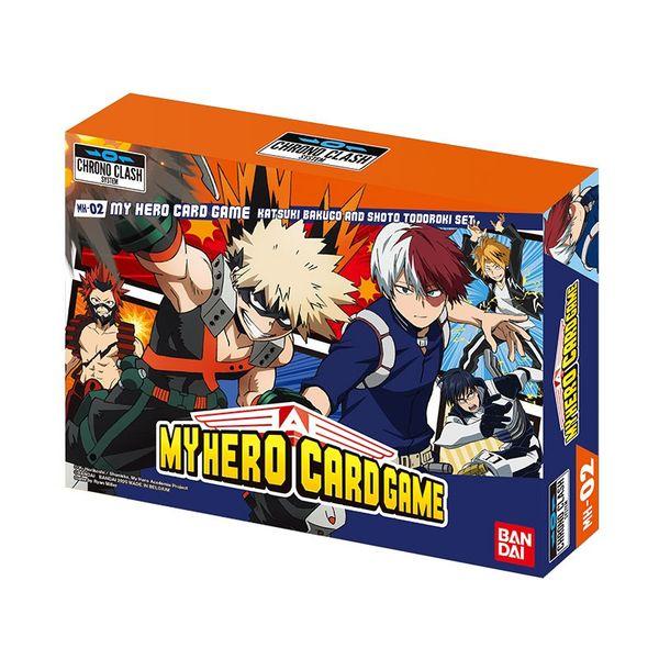 My Hero Academia Card Game Chrono Clash System MH-02