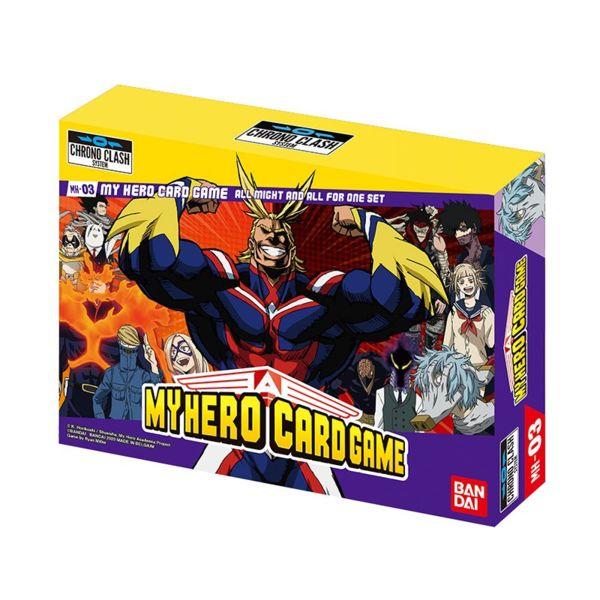 My Hero Academia Card Game Chrono Clash System MH-03