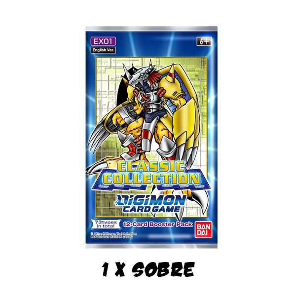 TCG DIGIMON CARD GAME Classic Collection English Booster Pack