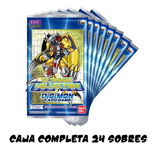 TCG DIGIMON CARD GAME Classic Collection English Caja Completa