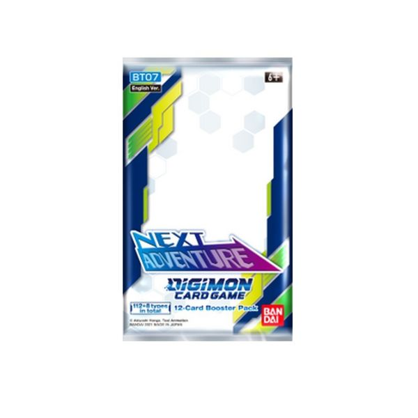 TCG DIGIMON CARD GAME Next Adventure BT07 English Booster Pack