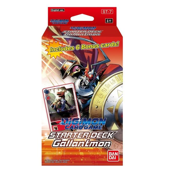 TCG DIGIMON CARD GAME Gallantmon Starter Deck 7 English