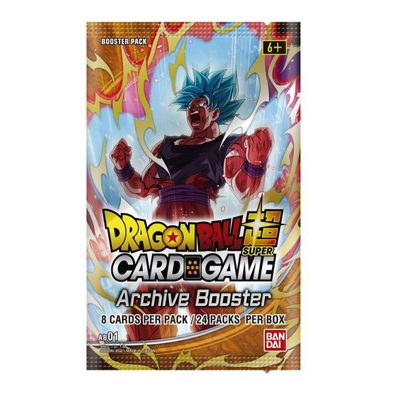 TCG Dragon Ball Super CARD GAME Archive Booster English Sobre Booster Pack