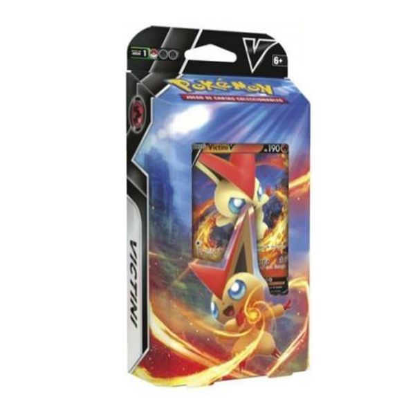 TCG POKEMON CARD GAME Battle Deck Victini