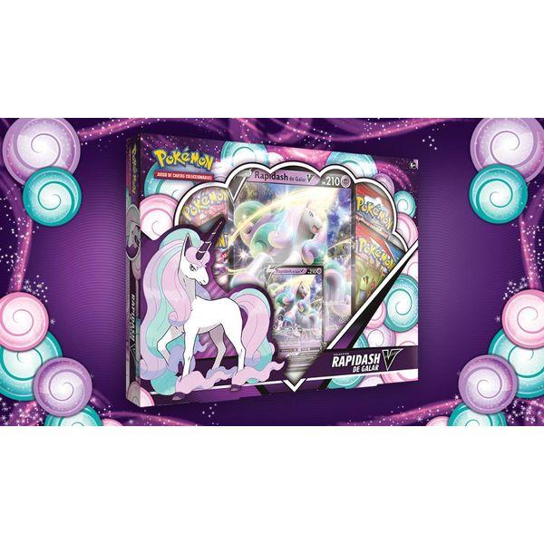 TCG Pokemon CARD GAME Coleccion Rapidash de Galar V
