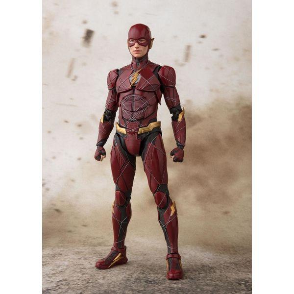 S.H. Figuarts Flash Justice League DC Comics