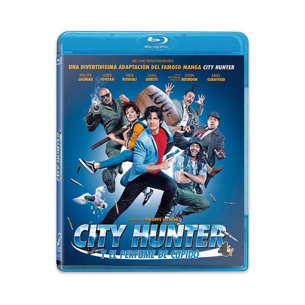 City Hunter y El Perfume de Cupido Bluray