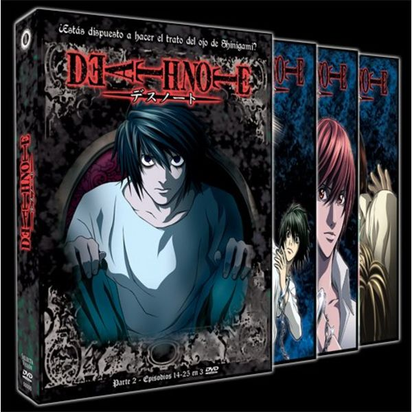 Part 2 Death Note DVD