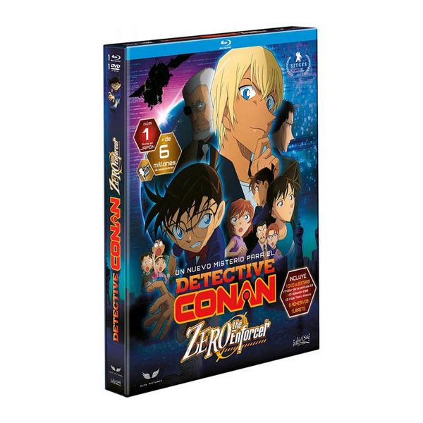 Detective Conan The Zero Enforcer Edicion Combo Bluray