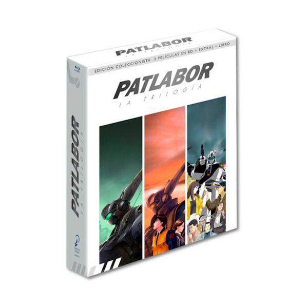 Patlabor La Trilogia Edicion Colecionistas Bluray