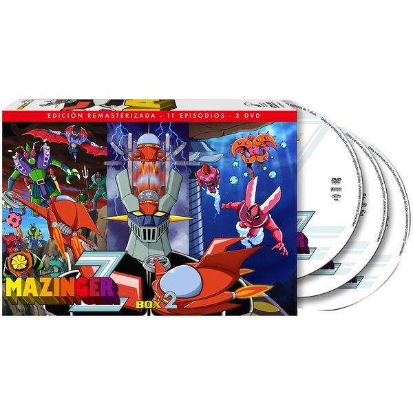 Mazinger Z Box 2 DVD Restored Edition