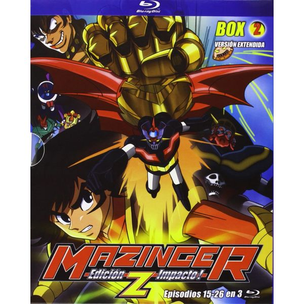 Box 2 Mazinger Z Bluray Impact Edition
