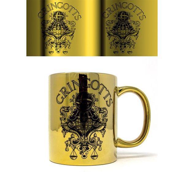 Taza Metallic Gringotts Harry Potter