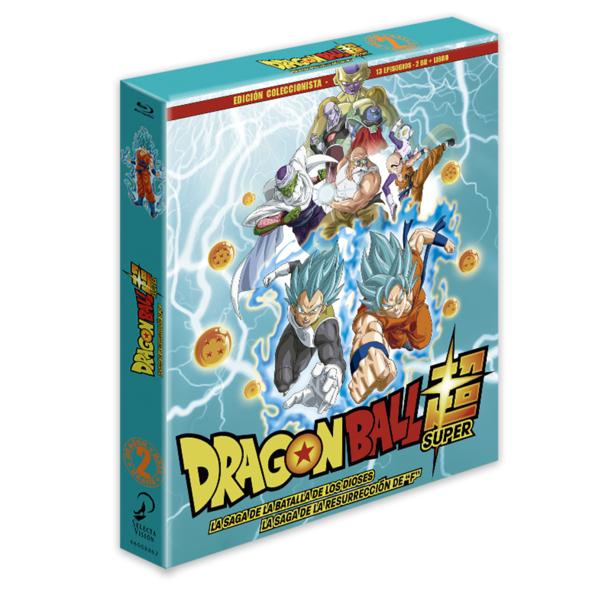 Dragon Ball Super - Box 2 Edición coleccionista 2BR + Libro - 13 episodios