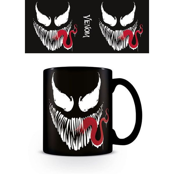 Taza Venom Face Marvel Comics